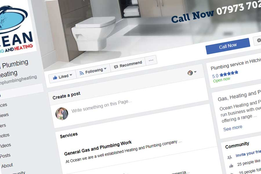 Ocean Plumbing and Heating Facebook